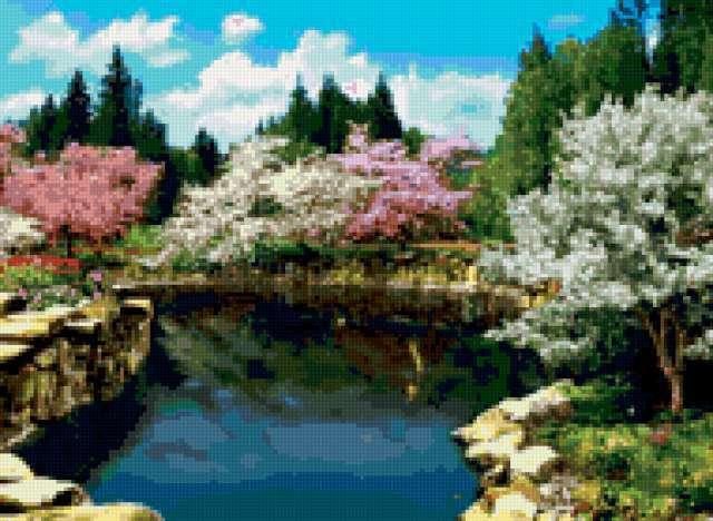 японский пейзаж 1
