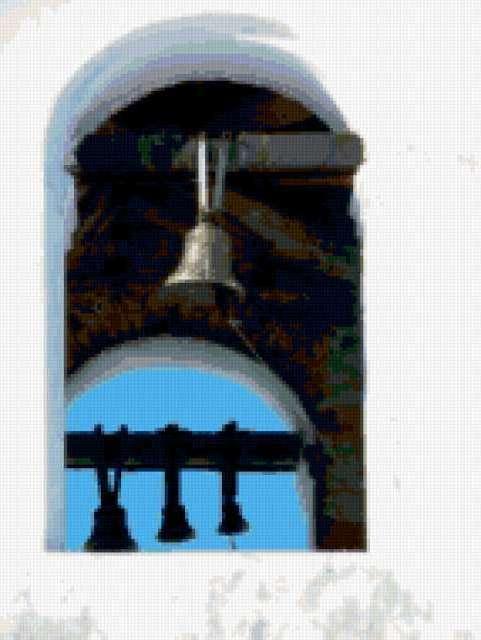 Схемы вышивки колокола