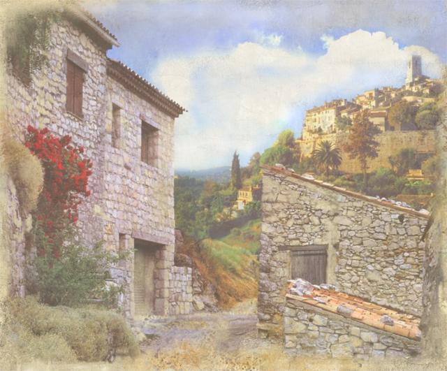 Фессалоники.фреска, пейзажи