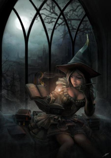 """За чтением """"Книги волшебниц"""","""