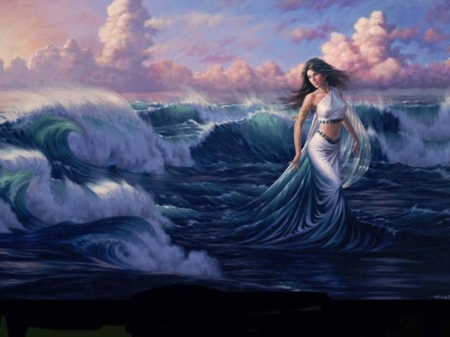 Королева моря, оригинал
