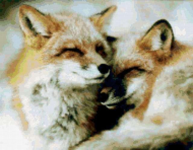 Лисички-сестрички, животные