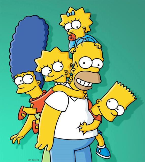 Веселая семейка Симпсонов