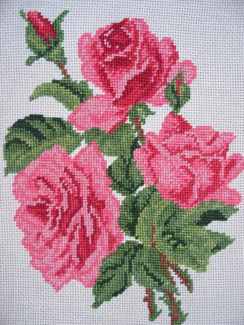 Схемы вышивки крестиком цветов бесплатно: розы, маки, орхидеи 46