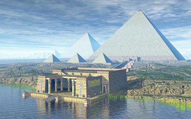Пирамиды Египта- хранители