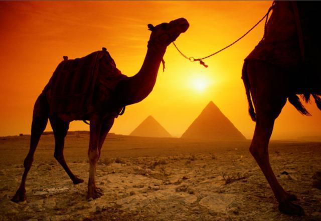 Египетские пирамиды, оригинал