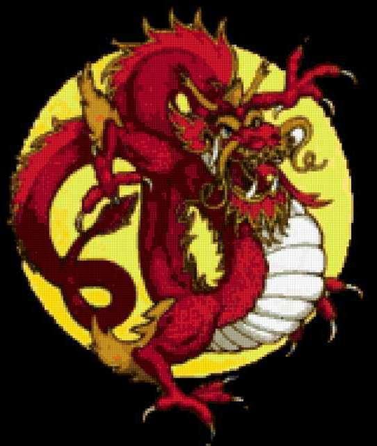 Китайский Дракон, предпросмотр