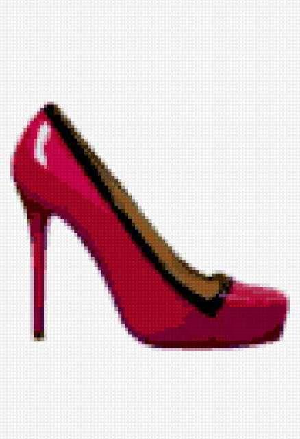 Туфли-гламур 1, туфли, гламур,