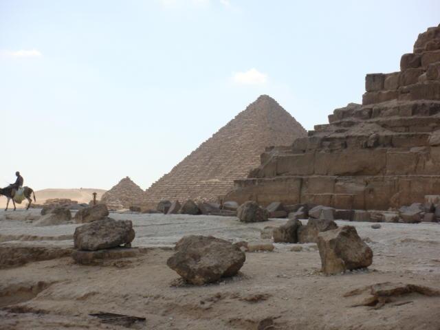 Пирамиды в Гизе, оригинал