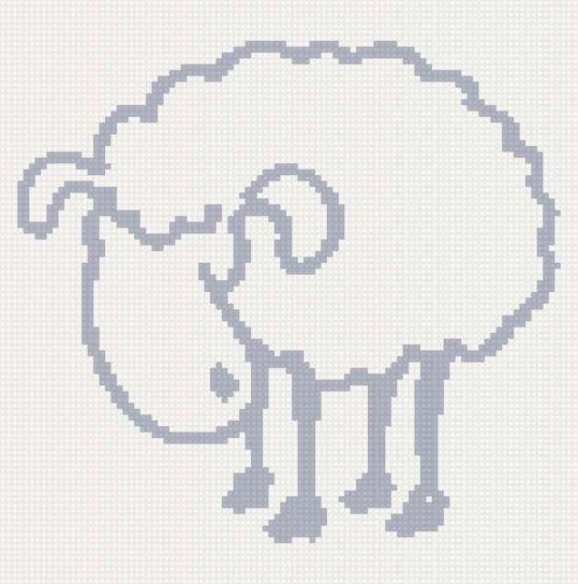 Овечка, овечка, животное, овца
