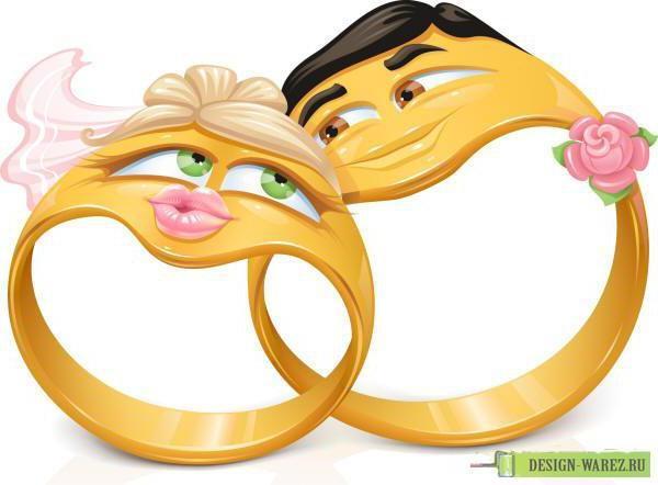 Сводебные кольца, оригинал