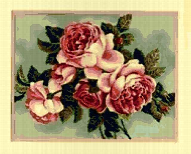Розы ретро, предпросмотр