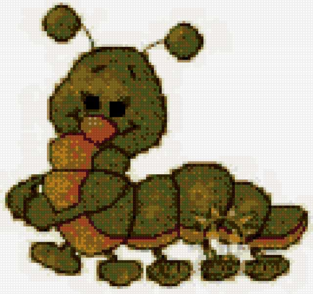 Гусеница, предпросмотр
