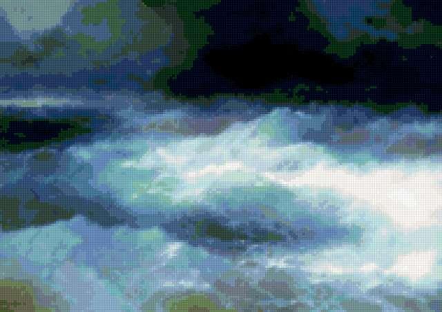 Айвазовский- среди волн