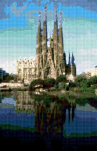 Барселона. Собор, испания