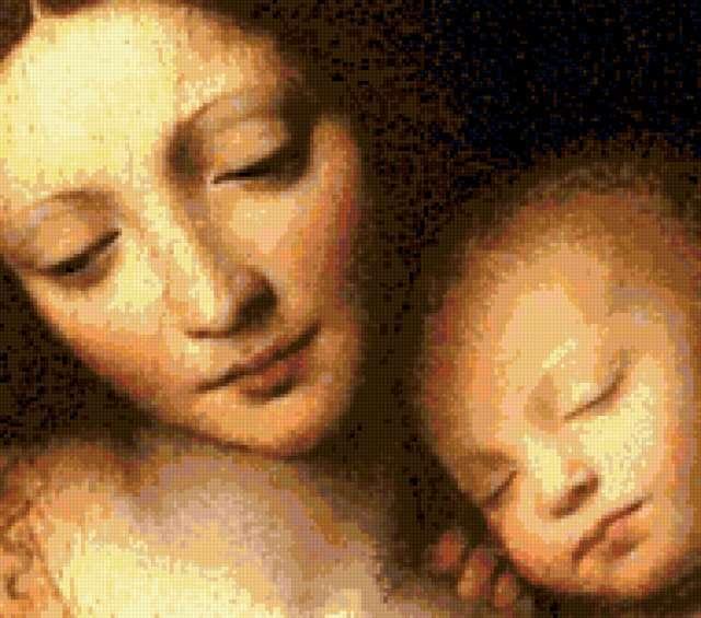 Мадонна с младенцем, мадонна