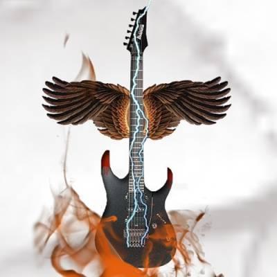 Дарящая крылья, гитара, музыка