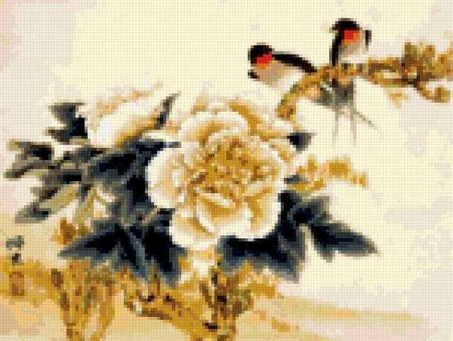 Цветы в японском стиле,