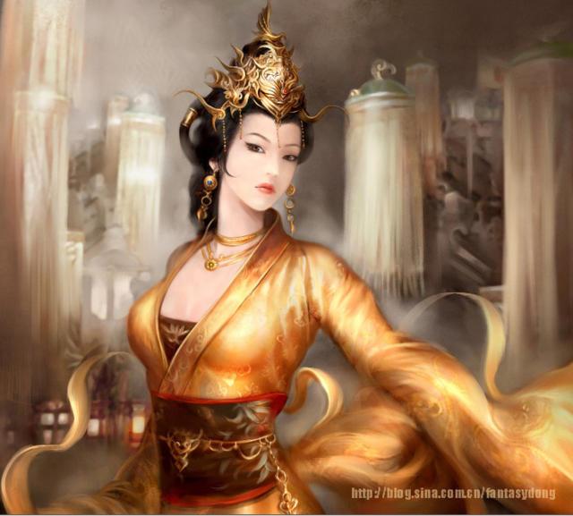 Портрет восточной царевны