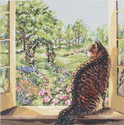 Окно в сад, оригинал
