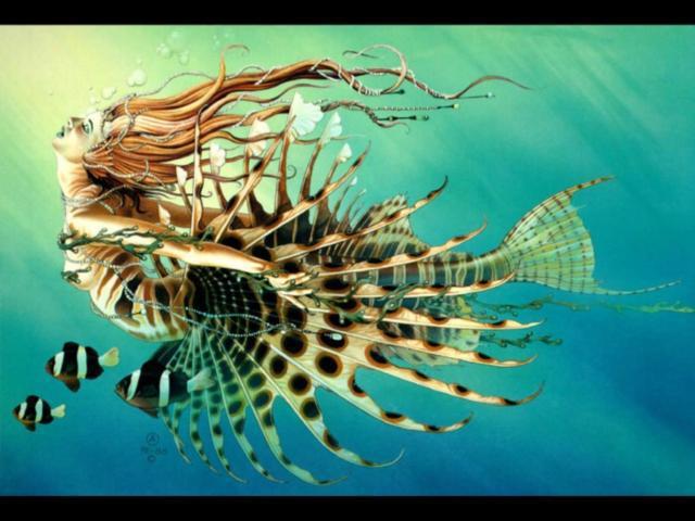 Девушка-рыба, оригинал
