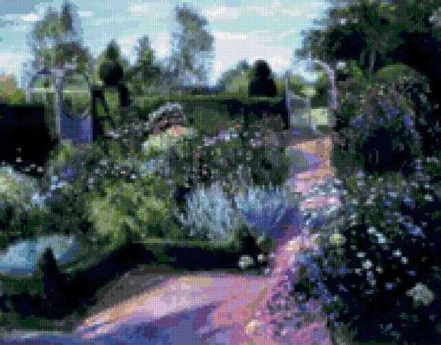 Английский сад, предпросмотр