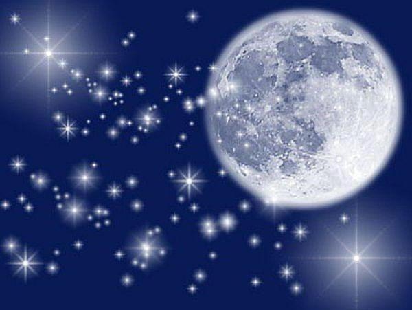 луна и звёзды, луна, звёзды,