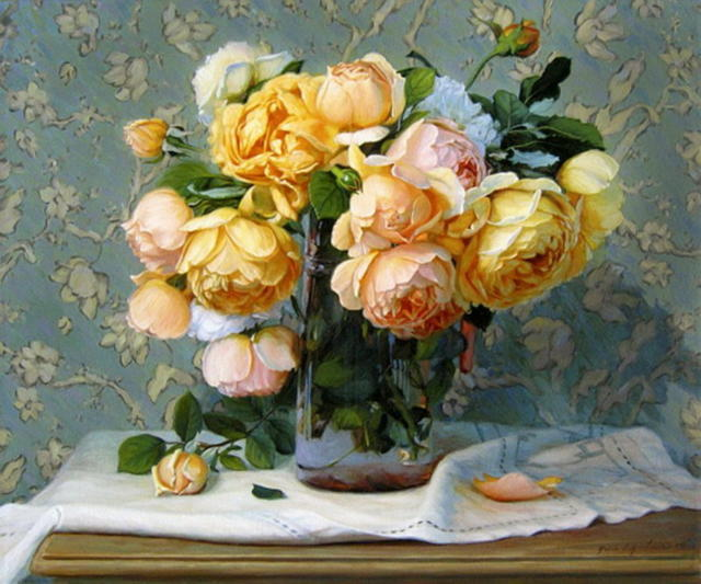 Старинные розы, розанчики