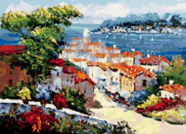 Схемы вышивок средиземноморье