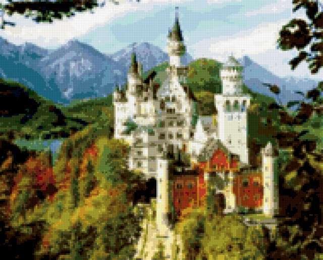 Сказочный замок, предпросмотр