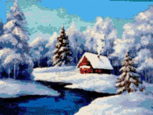 Зимушка-зима, природа, пейзаж,