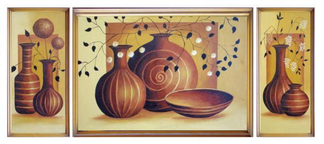 Посуда Триптих, оригинал