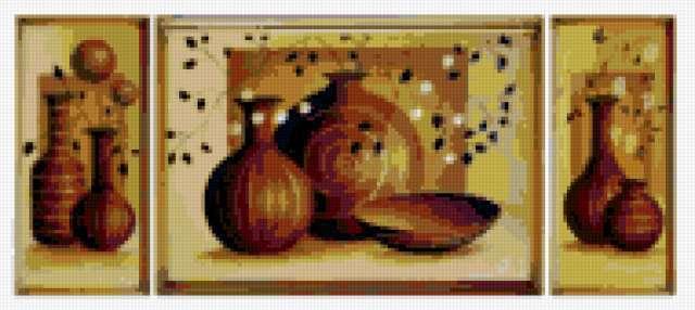 Посуда Триптих, предпросмотр