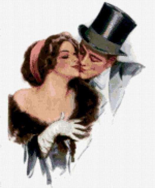 Нежный поцелуй, нежность