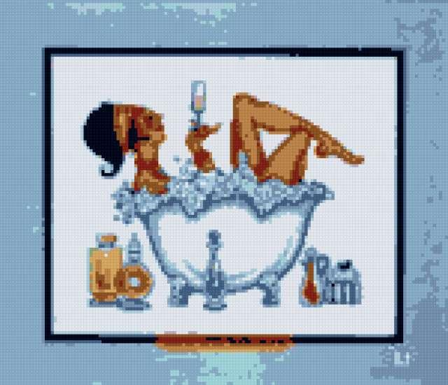 Дама в ванной 2, предпросмотр