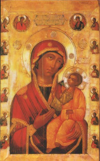 Иверская икона Божией Матери,