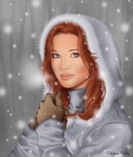 Девушка-зима, оригинал
