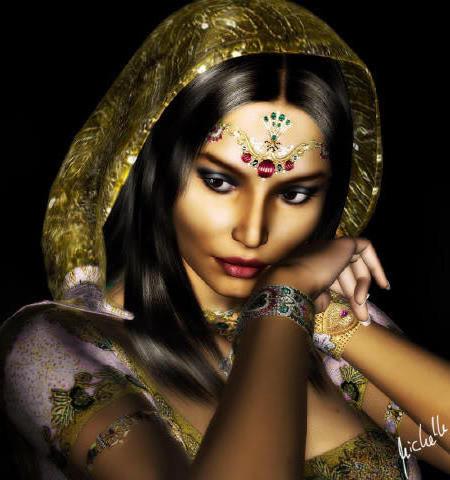 Индианка, индианка, девушка