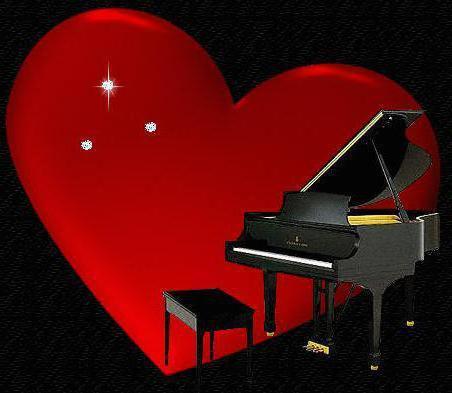 Рояль и сердце, оригинал