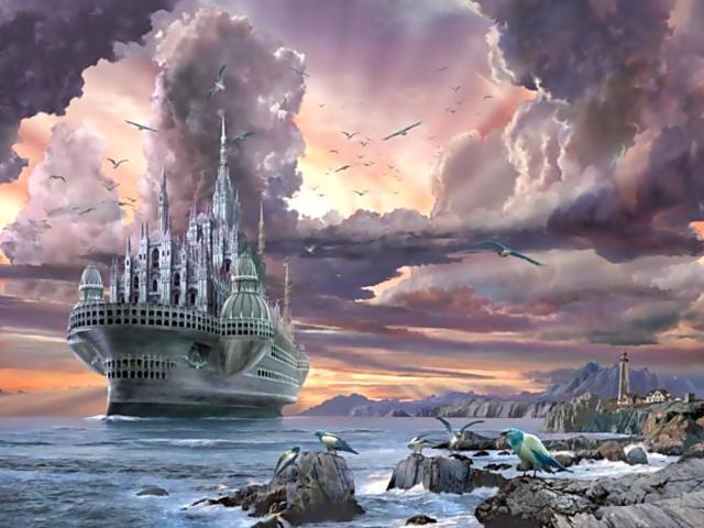 Корабль-призрак...., фэнтези