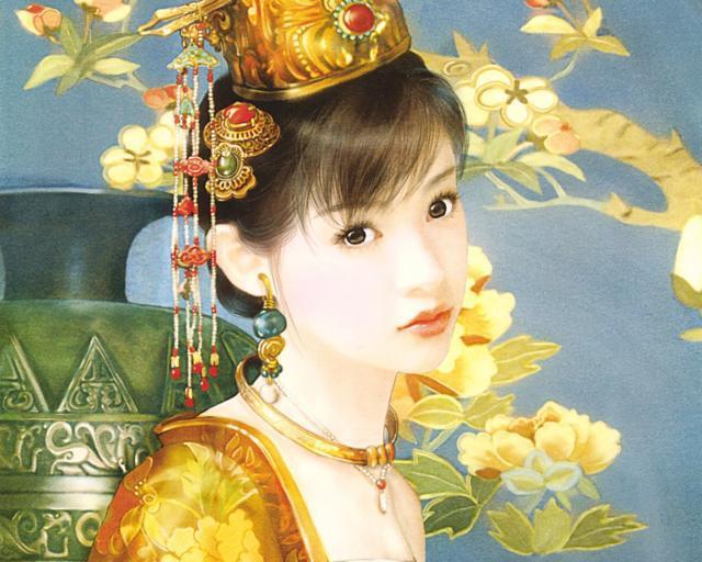Китайская принцесса, оригинал