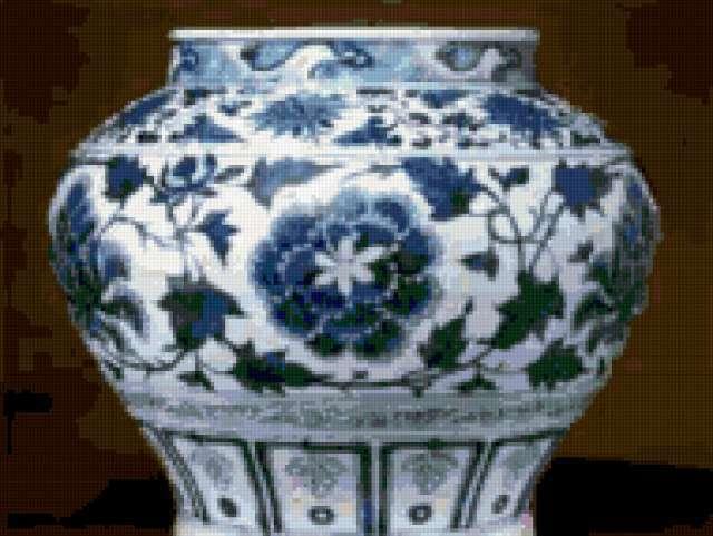 Китайская ваза, предпросмотр