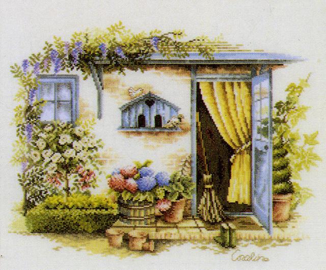 Дачный домик,