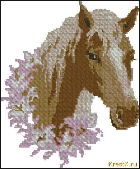 Голова лошади, оригинал