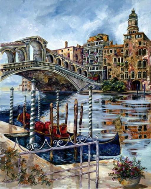 Пейзажи Венеции, венеция