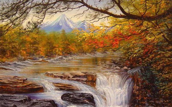 Осенний пейзаж, осень, пейзаж,