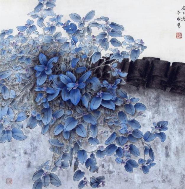 цветы, восточные мотивы