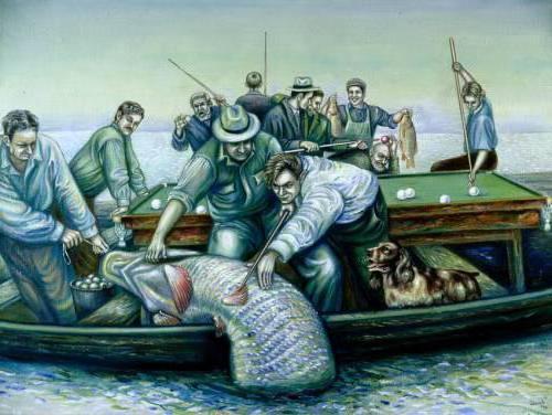 Бильярд и рыбалка, оригинал