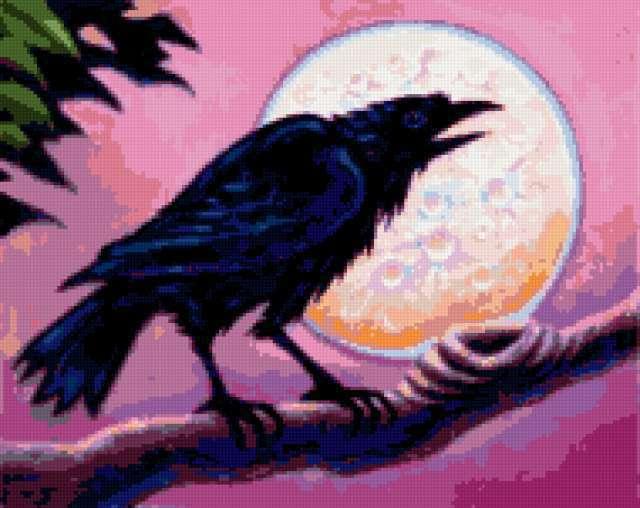 Лунный ворон, предпросмотр