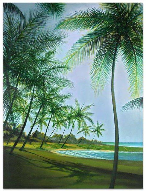 Таинственный пляж, оригинал